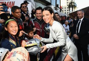 Evangeline Lilly'Ant-Man and The Wasp' film premiere, Arrivals, Los Angeles, USA - 25 Jun 2018