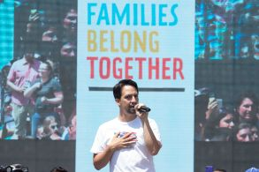 Lin-Manuel Miranda Families Belong Together