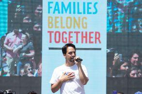 Lin-Manuel Miranda Families Belong Together