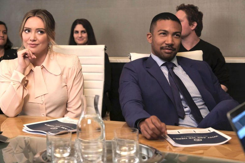 "Hilary Duff and Charles Michael Davis, ""Younger"""