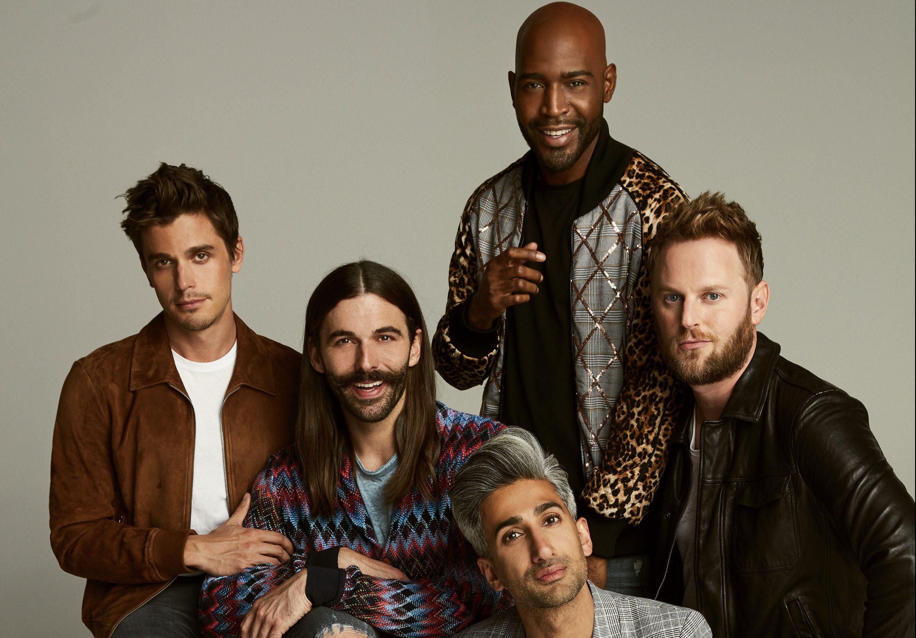Queer Eye' Renewed For Season 3 at Netflix, Fab 5 Head to Kansas ...