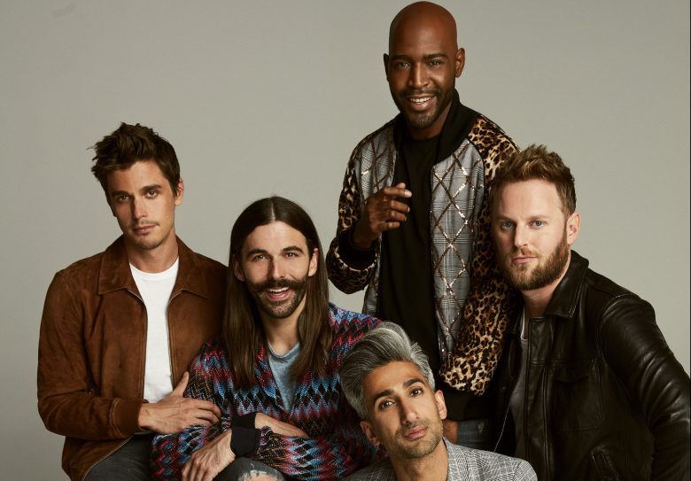 Jonathan Van Ness, Tan France, Karamo Brown, Bobby Berk, and Antoni Porowski