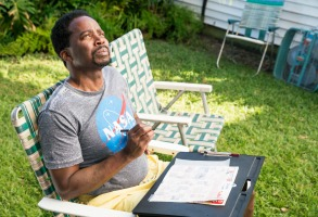 "Harold Perrineau, ""Claws"""