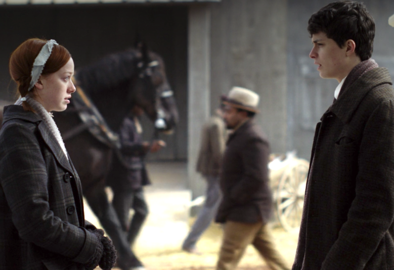 "Amybeth McNulty and Lucas Jade Zumann, ""Anne With an E"""