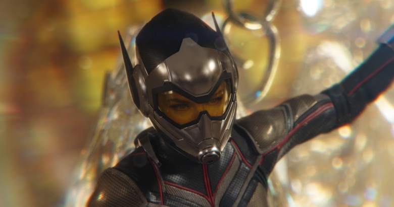 Marvel Studios ANT-MAN AND THE WASP..Wasp/Hope van Dyne (Evangeline Lilly)..Photo: Film Frame..©Marvel Studios 2018