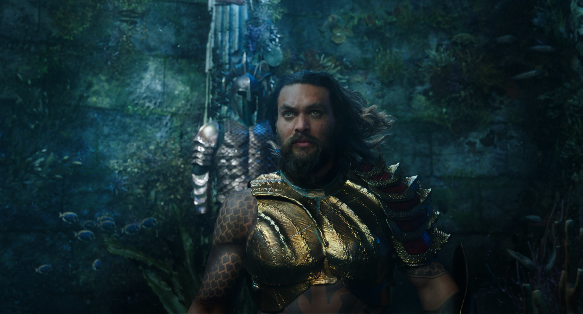 aquaman review james wan can t salvage a wannabe thor movie