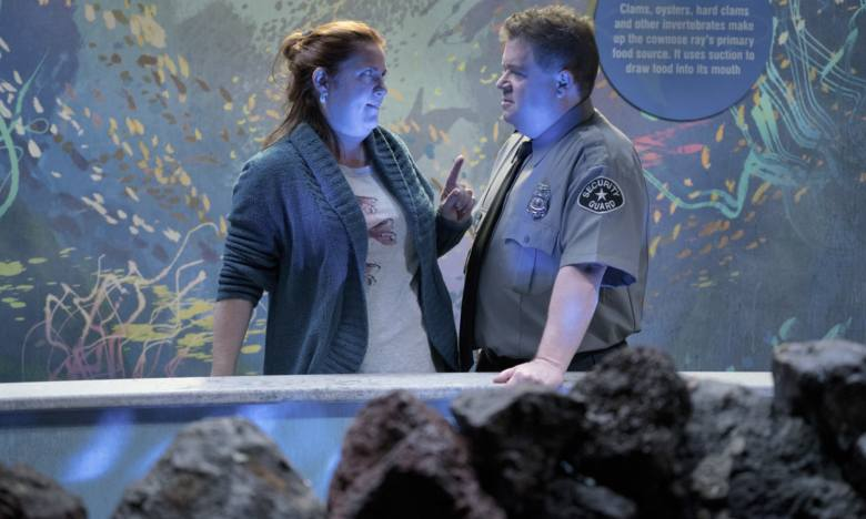 "Donna Lynne Champlin and Patton Oswalt, ""Crazy Ex-Girlfriend"""