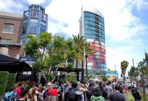 FOX FANFARE AT SAN DIEGO COMIC-CON © 2018: Behind the scenes on Friday, July 20 at the FOX FANFARE AT SAN DIEGO COMIC-CON © 2018. CR: Brandon Means/FOX © 2018 FOX BROADCASTING