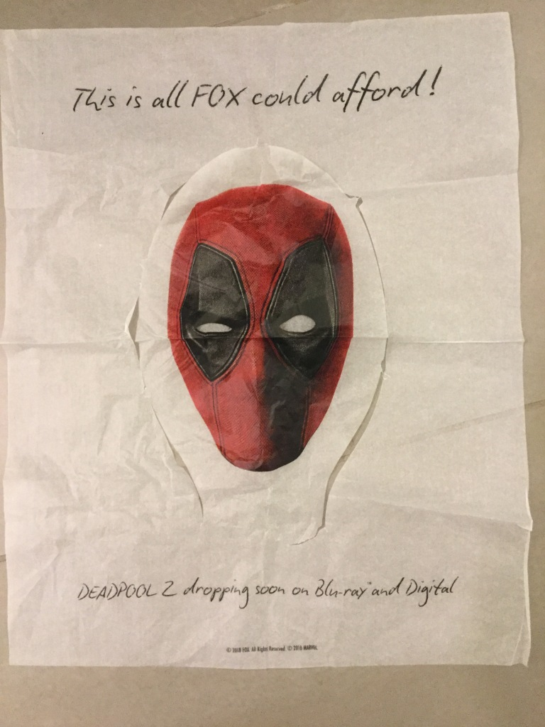Deadpool Seat Cover 1