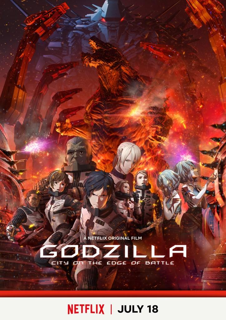 """Godzilla: City on the Edge of Battle"""