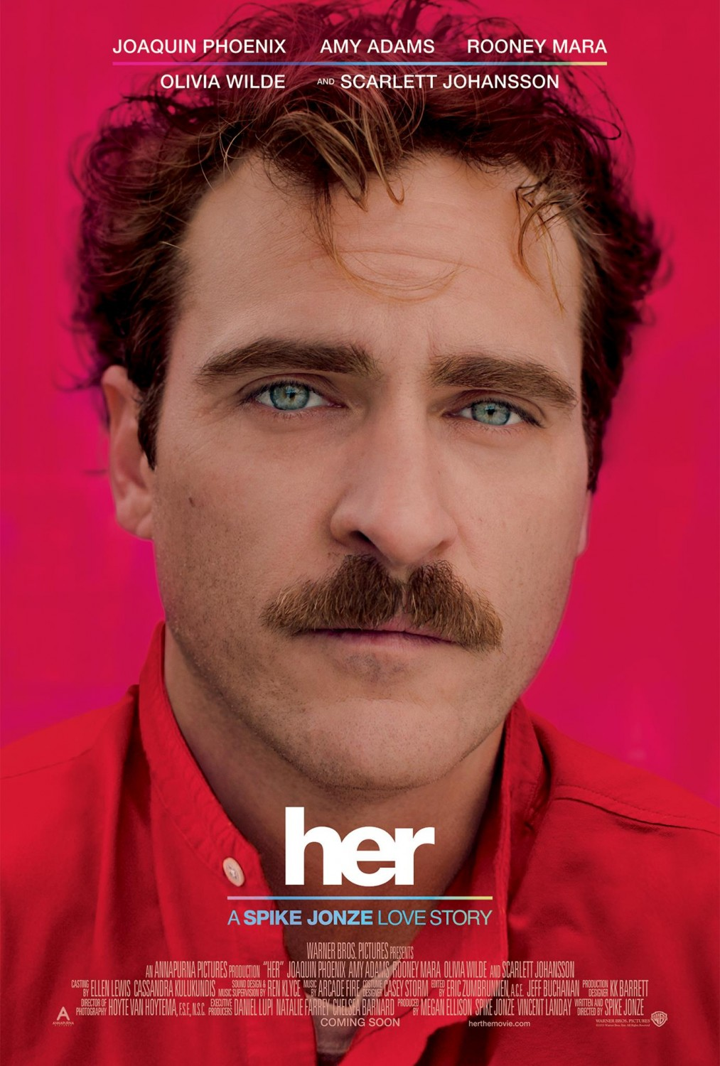 Image result for her movie poster joaquin phoenix""