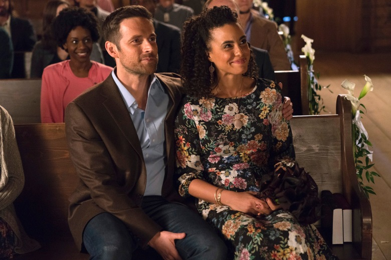 "Dylan Bruce and Parisa Fitz-Henley, ""Midnight, Texas"""