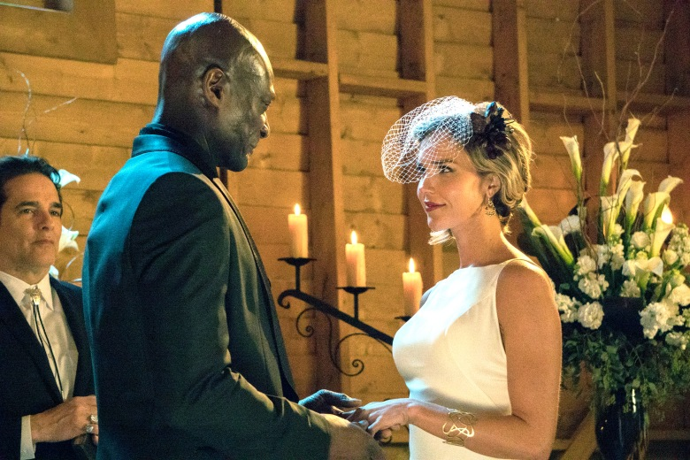 "Peter Mensah and Arielle Kebbel, ""Midnight, Texas"""