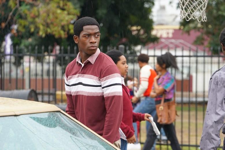 "SNOWFALL -- ""Sightlines"" -- Season 2, Episode 1 (Airs Thursday, July 19, 10:00 pm ET/PT) -- Pictured: Damson Idris as Franklin Saint. CR: Byron Cohen/FX"
