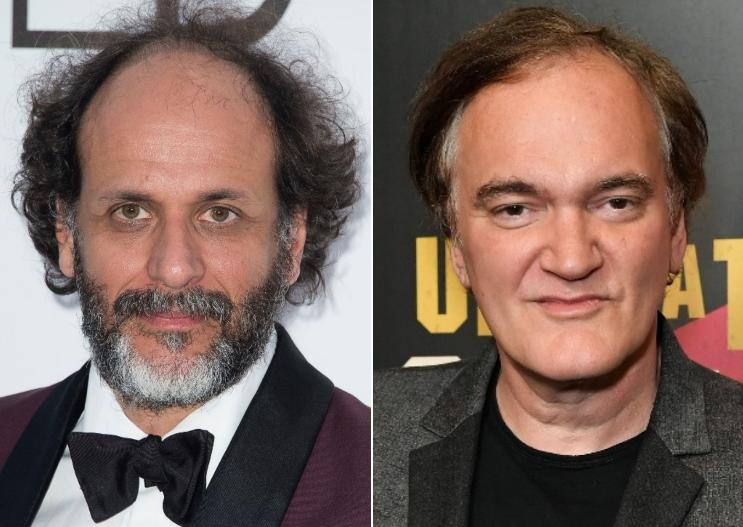 Luca Guadagnino and Quentin Tarantino