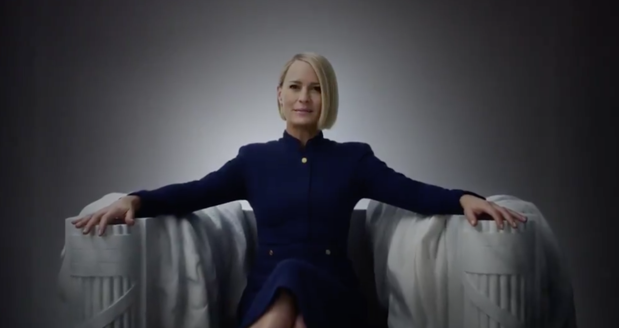 Claire Underwood Takes Centre Stage In Ominous New 'House Of Cards' Promo