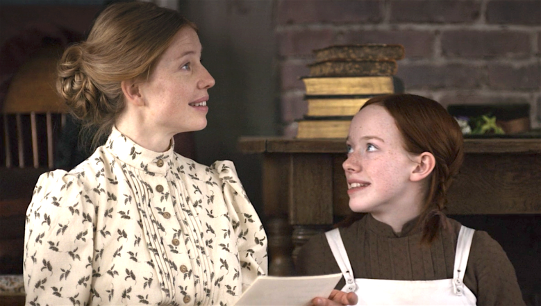 "Joanna Douglas and Amybeth McNulty, ""Anne With an E"""