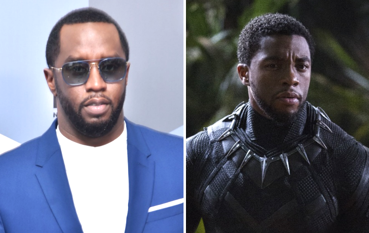"Sean ""Diddy"" Combs and ""Black Panther"""