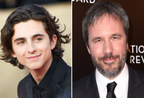 Timothée Chalamet and Denis Villeneuve