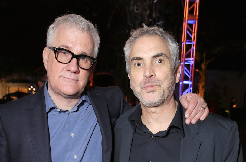 Alfonso Cuarón and David Linde