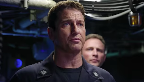 "Gerard Butler in ""Hunter Killer"""