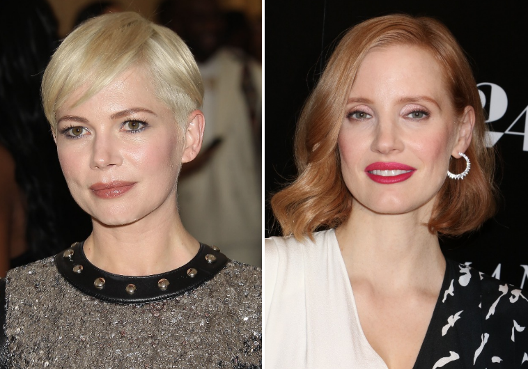 Michelle Williams and Jessica Chastain