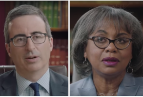 "John Oliver and Anita Hill on ""Last Week Tonight"""