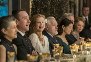 Succession Matthew Macfadyen Sarah Snook Brian Cox