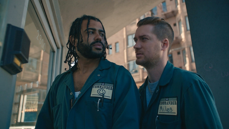 Daveed Diggs and Rafael Casal Blindspotting