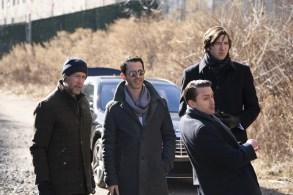 """Succession"" Season 1 Alan Ruck, Jeremy Strong, Kieran Culkin, Nicholas Braun"