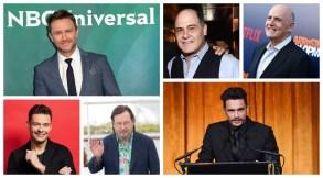 Chris Hardwick Matthew Weiner Jeffrey Tambor Ryan Seacrest Lars von Trier James Franco