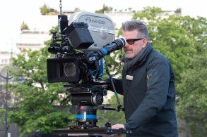 Director Christopher McQuarrie on the set of MISSION: IMPOSSIBLE - FALLOUT, from Paramount Pictures and Skydance.