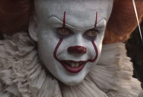 Bill Skarsgård Pennywise the Clown It