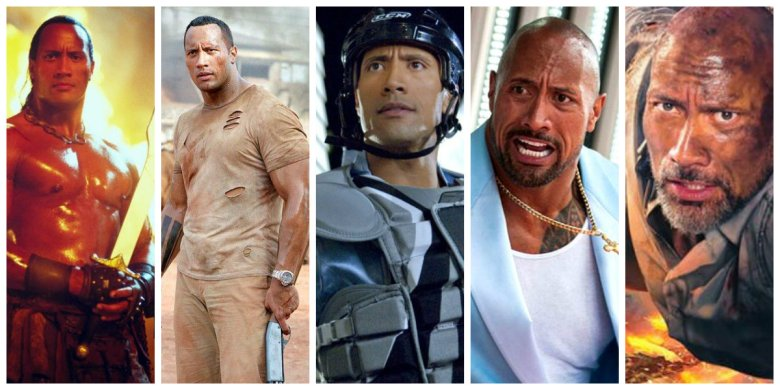 Image result for dwayne johnson COLLAGE