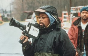 No Merchandising. Editorial Use Only. No Book Cover Usage.Mandatory Credit: Photo by Columbia Tristar/Kobal/REX/Shutterstock (5865346a)Spike LeeSpike Lee - 1996Columbia TristarOn/Off Set
