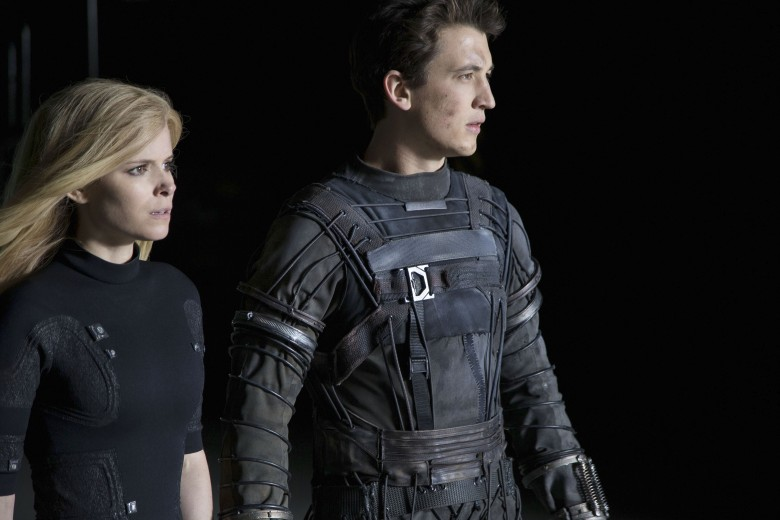 No Merchandising. Editorial Use Only. No Book Cover Usage.Mandatory Credit: Photo by 20th Century Fox/Marvel/Kobal/REX/Shutterstock (5883455s)Kate Mara, Miles TellerFantastic Four - 2015Director: Josh Trank20th Century Fox/Marvel EntertainmentUSAScene StillAction/AdventureLes 4 Fantastiques
