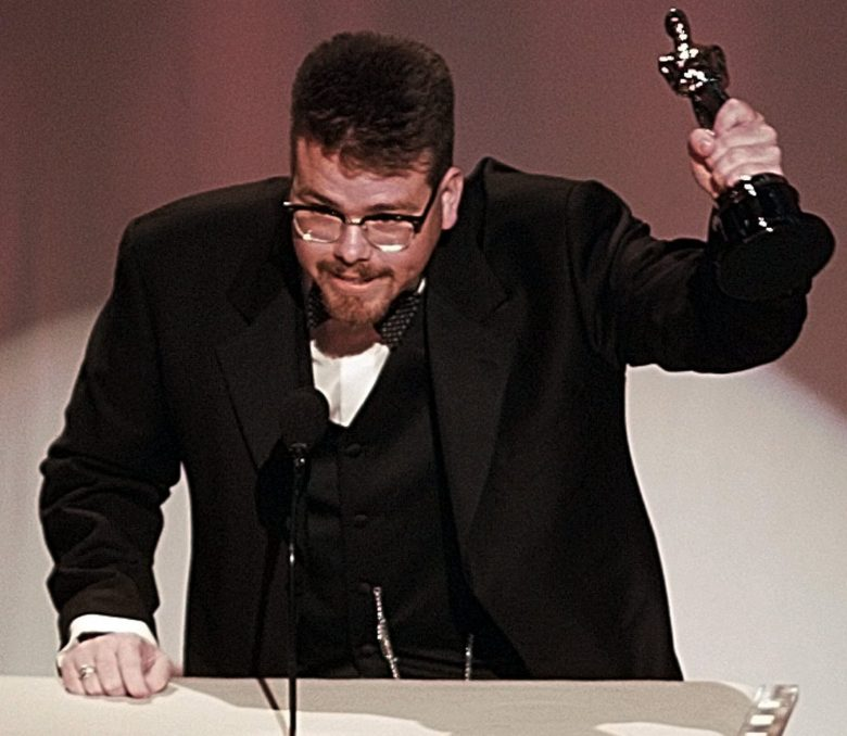 "MCQUARRIE Christopher McQuarrie accepts the award for Best Original Screenplay for ""The Usual Suspects"" at the 68th Annual Academy Awards in Los AngelesOSCARS, LOS ANGELES, USA"
