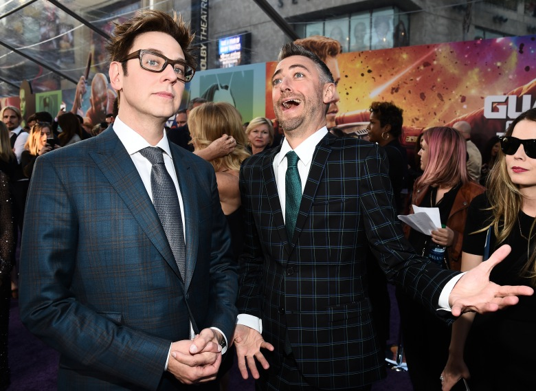 James Gunn and Sean Gunn Guardians of the Galaxy