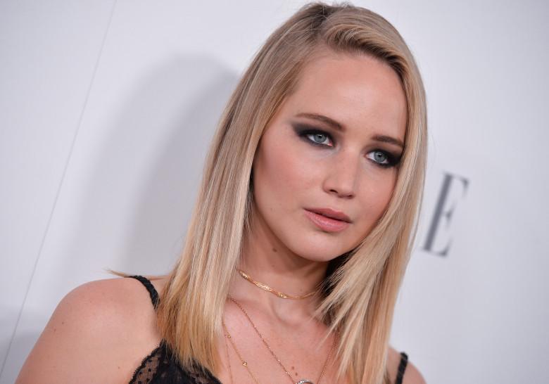 Face on lawrence jennifer cum Jennifer Lawrence