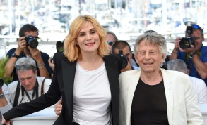 Emmanuelle Seigner, Roman Polanski'Based on a True Story' Photocall - the 70th Annual Cannes Film Festival, Cannes, France - 27 May 2017