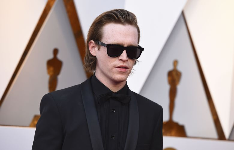 Caleb Landry Jones arrives at the Oscars, at the Dolby Theatre in Los Angeles90th Academy Awards - Arrivals, Los Angeles, USA - 04 Mar 2018