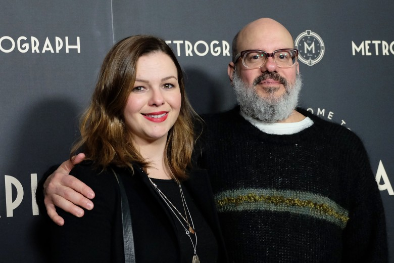 Amber Tamblyn and David CrossMetrograph 2nd Anniversary Party, New York, USA - 22 Mar 2018