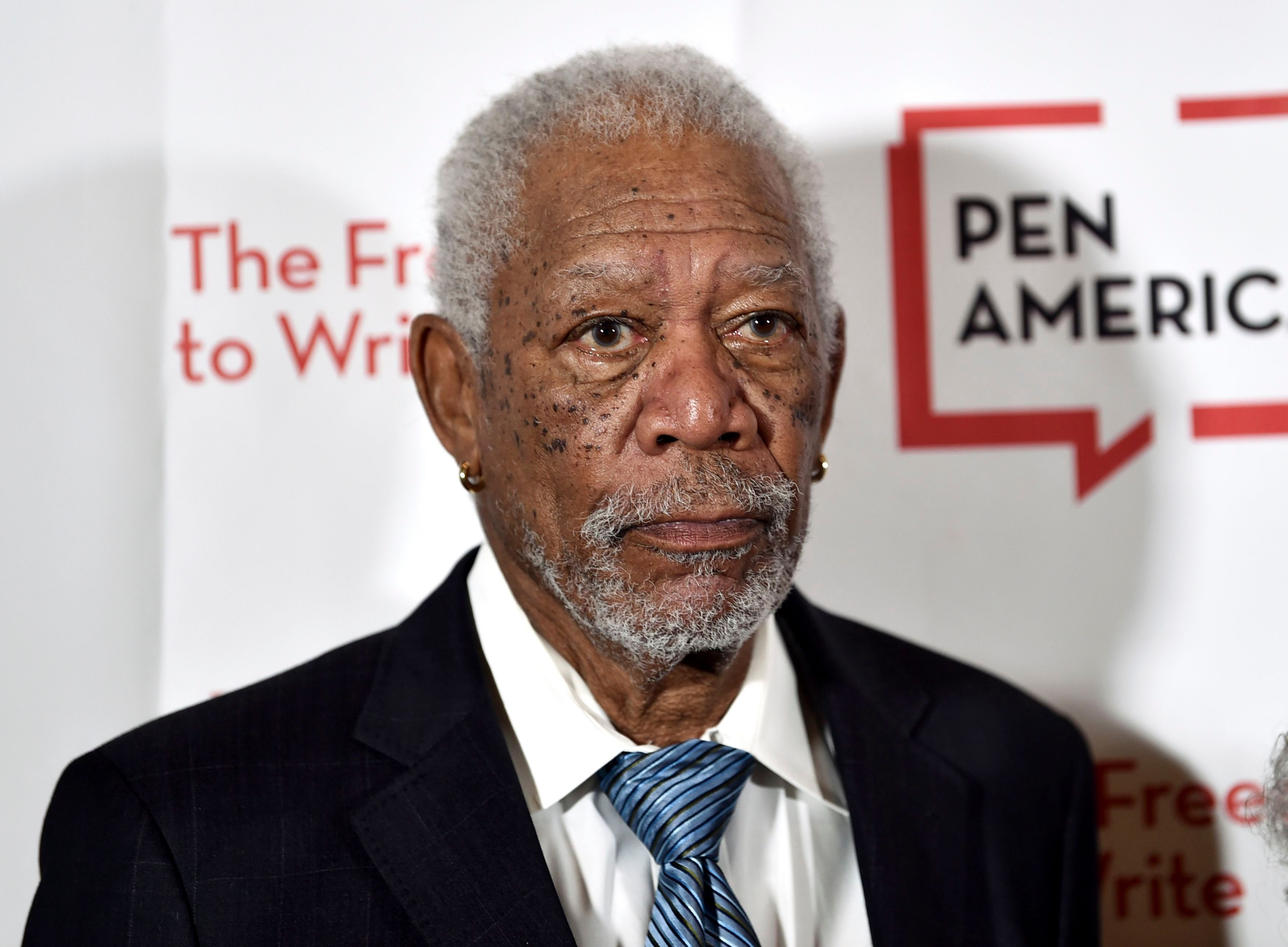 Actor Morgan Freeman attends the 2018 PEN Literary Gala at the American Museum of Natural History, in New York2018 PEN Literary Gala, New York, USA - 22 May 2018