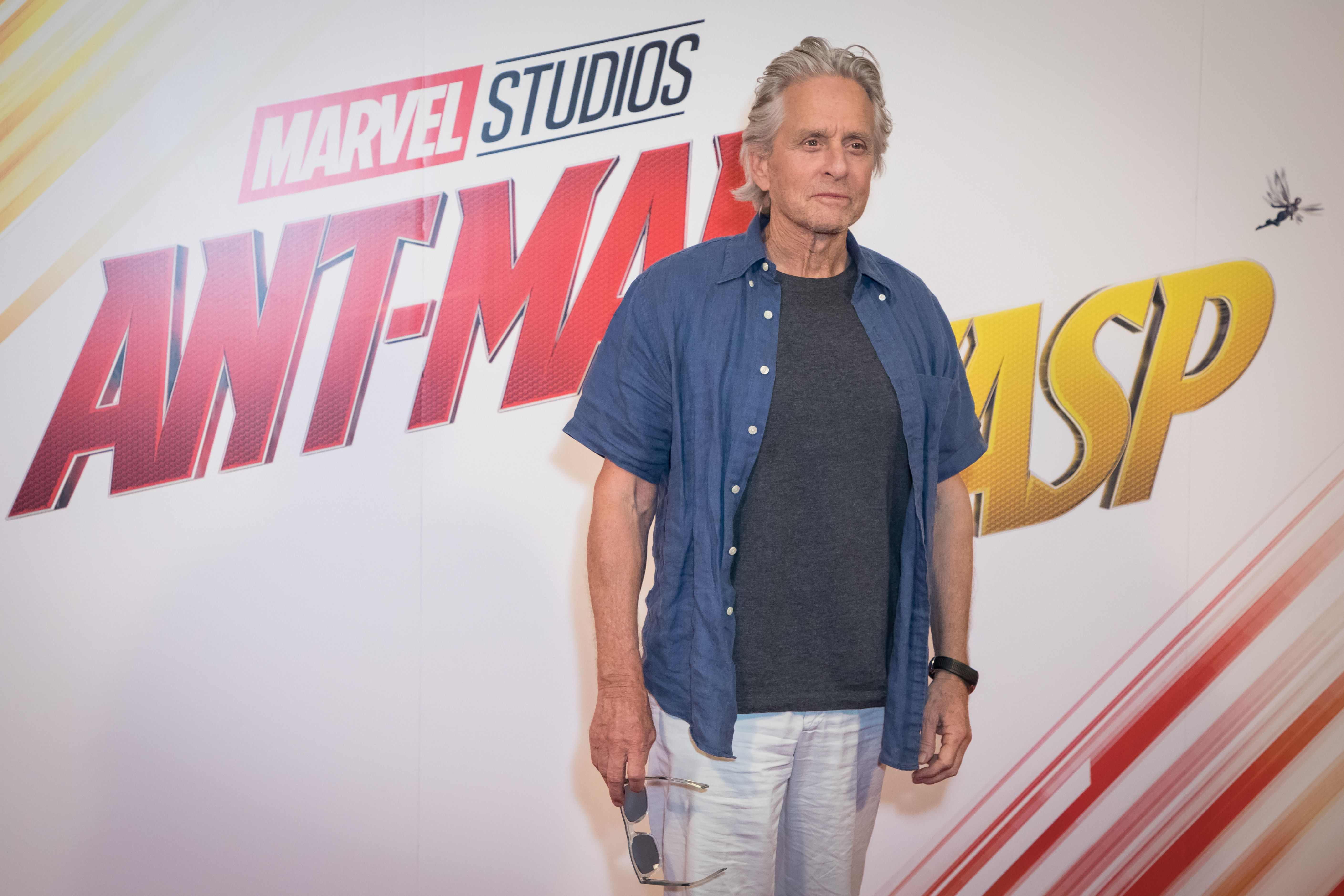 Michael Douglas'Ant Man and The Wasp' film photocall, London, UK - 17 Jul 2018