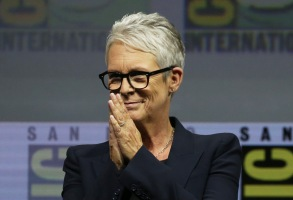 Jamie Lee Curtis'Glass' and 'Halloween' film panel, Comic-Con International, San Diego, USA - 20 Jul 2018