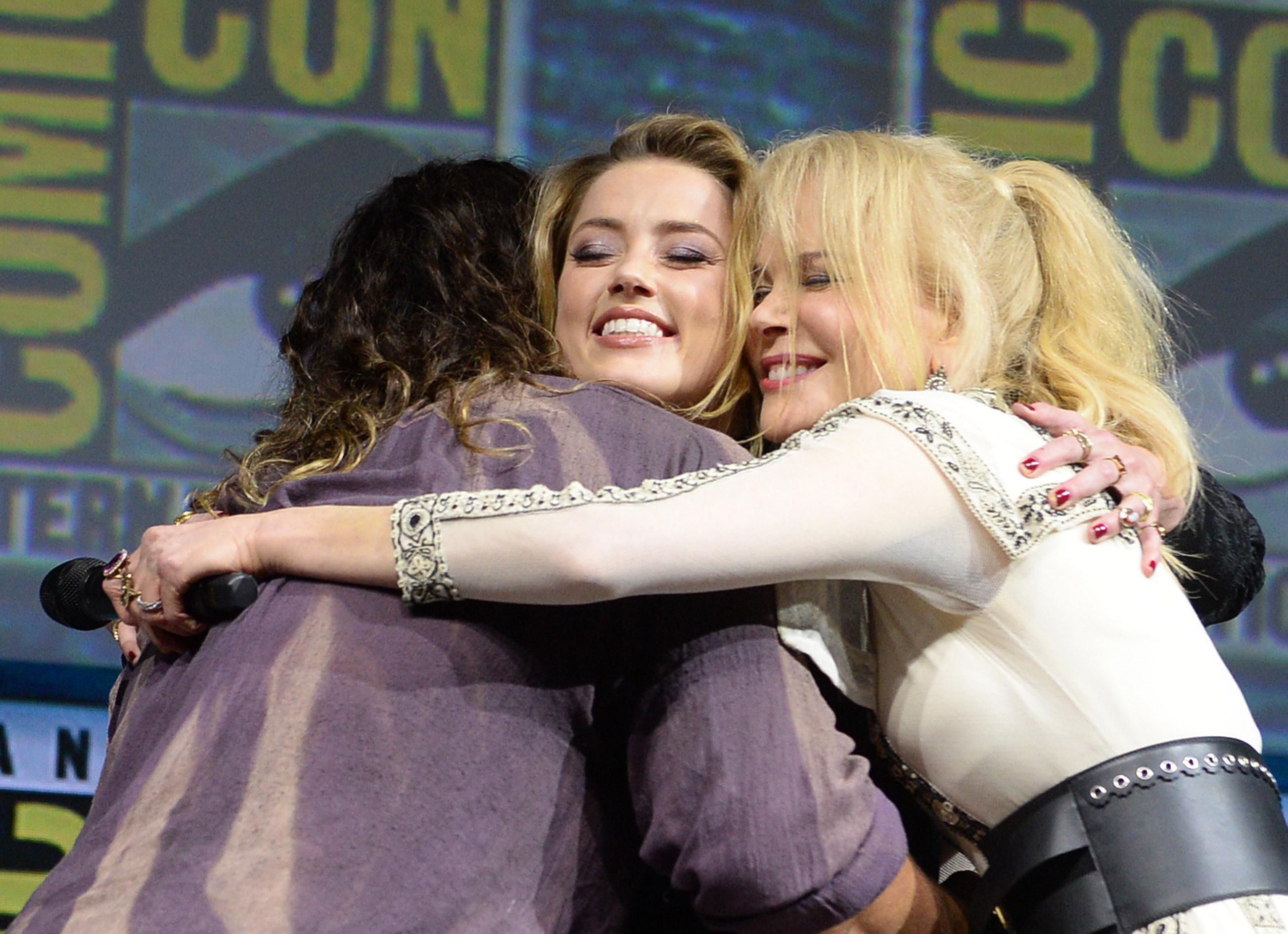 Jason Momoa, Amber Heard and Nicole Kidman'Aquaman' film panel, Comic-Con International, San Diego, USA - 21 Jul 2018 2018 Comic-Con International: San Diego Day 3 - Warner Bros. Studio Panel