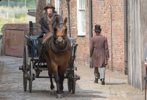 Paul Whitehouse on the set of a new David Copperfield movie being shot in King's Lynn, Norfolk'The Personal History of David Copperfield' on set filming, King's Lynn, Norfolk, UK - 20 Jul 2018Paul Whitehouse (brown hat and jumper) on the set of a new David Copperfield movie being shot in King's Lynn, Norfolk today.Comedian Paul Whitehouse was spotted on the set of a new David Copperfield costume drama, as the docks at King's Lynn in Norfolk were transformed into a Victorian fish market today.The actor was seen dressed in a brown hat and top and white dungarees as he filmed scenes for The Personal History of David Copperfield. The drama, which is directed by Armando Lannucci, also stars Dev Patel, Hugh Laurie and Peter Capaldi.