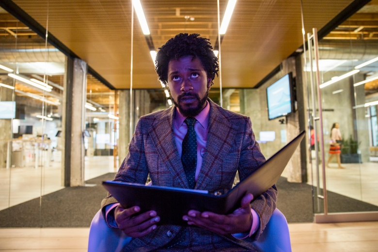 Lakeith Stanfield stars as Cassius Green in Boots Riley's SORRY TO BOTHER YOU, an Annapurna Pictures release.