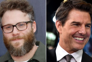 Seth Rogen and Tom Cruise