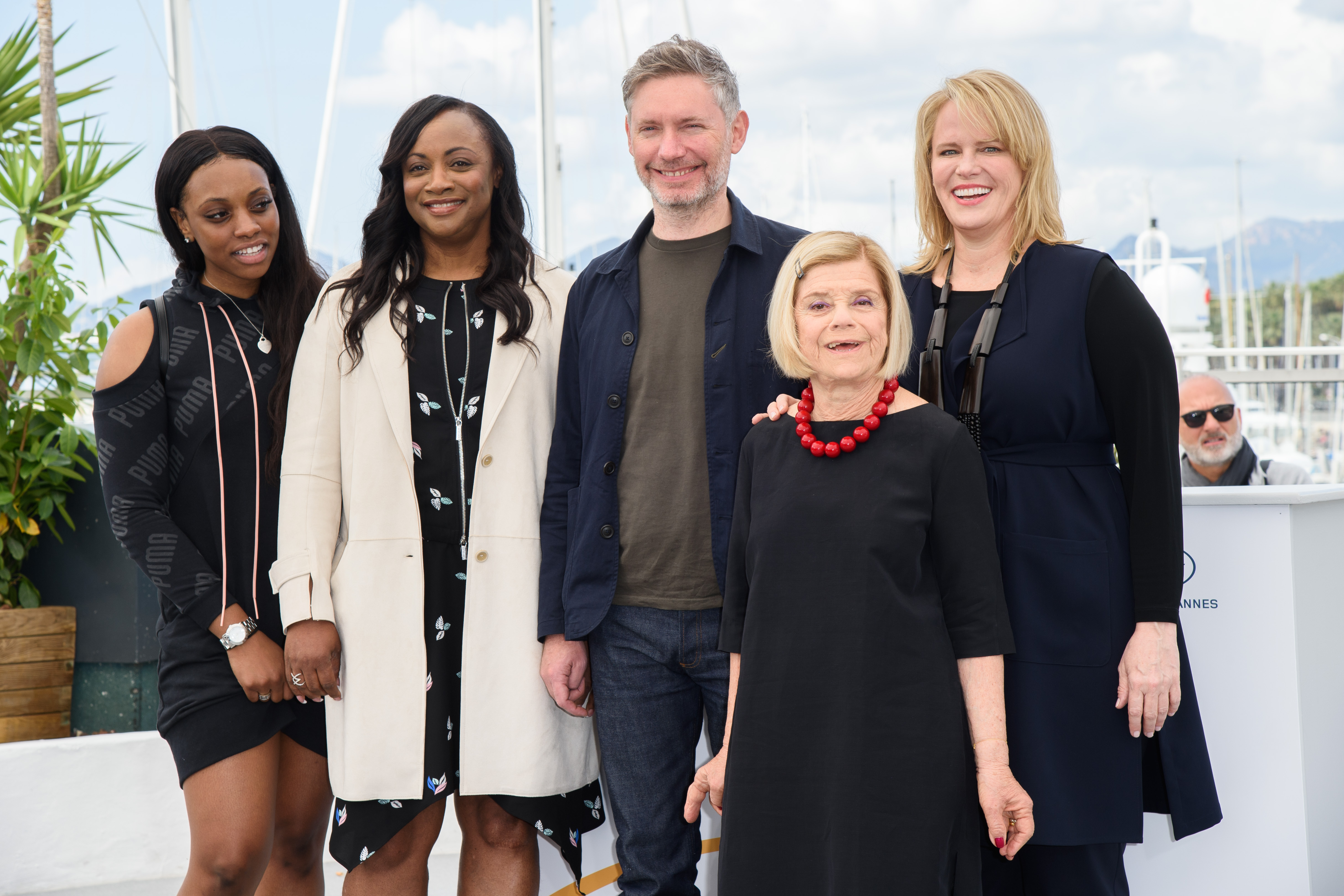 Rayah Houston, Pat Houston, Kevin Macdonald, Nicole David and Lisa ErspamerWhitney Workshop Photocall during the 71st Cannes Film Festival, France - 17 May 2018